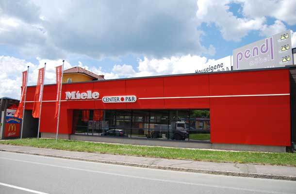 Miele Center P&R in Leoben Steiermark