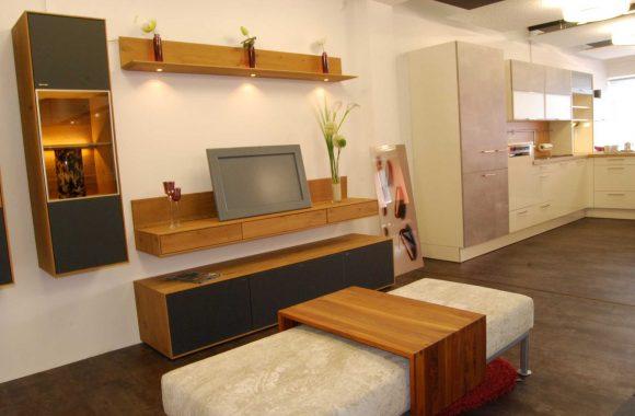 Schauraum Moderne Wohnwand - Schauraum Leoben
