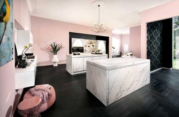 Küchenmodelle Keramikküche Calacatta