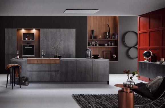 Küchenmodelle Küche Iron Grey
