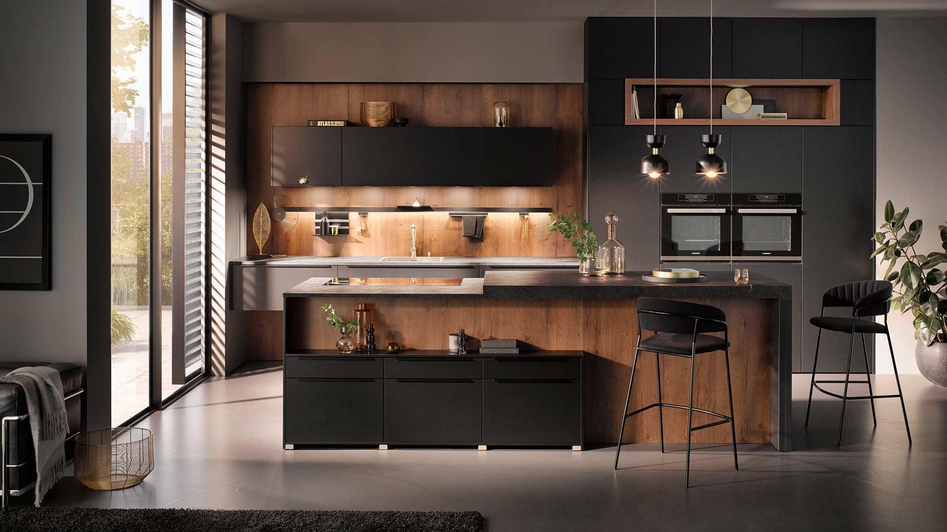 Küchentrends 2020 Häcker Mattlack im Miele Center P & R