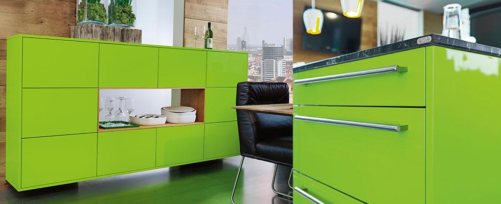 Farbe der Hoffnung: Die neue EWE Küche in grün