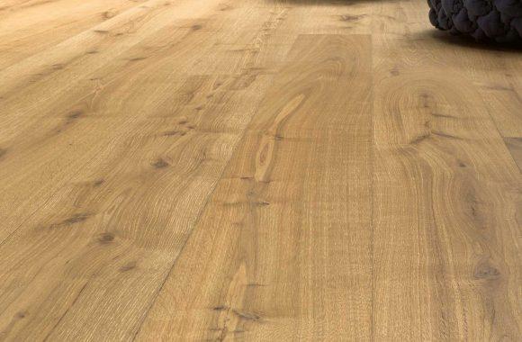 Landegger - Holzboden für das Wohnzimmer - sanfte Farben