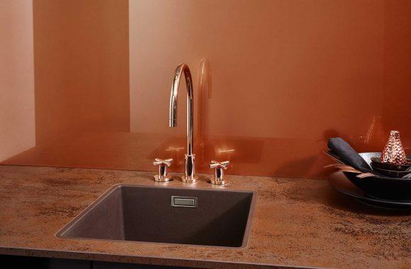 Lechner Küchenrückwand Copper