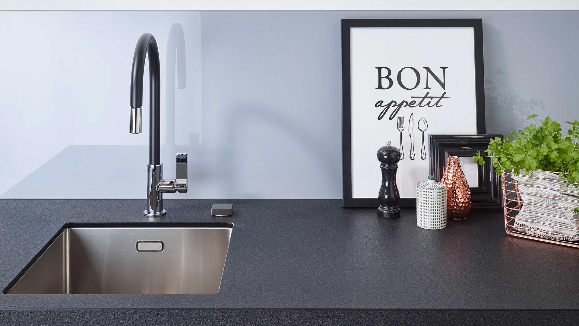 Küchenrückwand von Lechner bei P & R Leoben