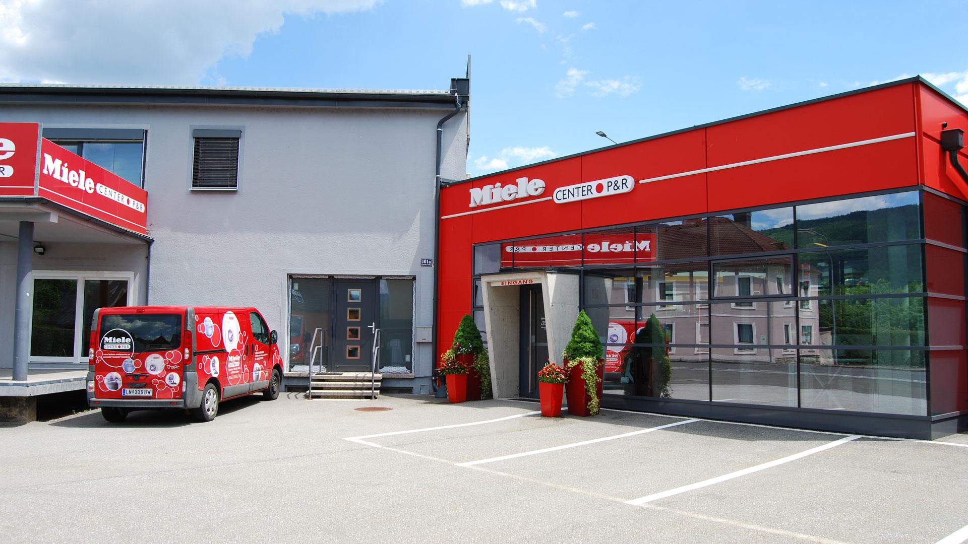 Miele Center P & R mit eigenem Kundendienst in Leoben, Steiermark