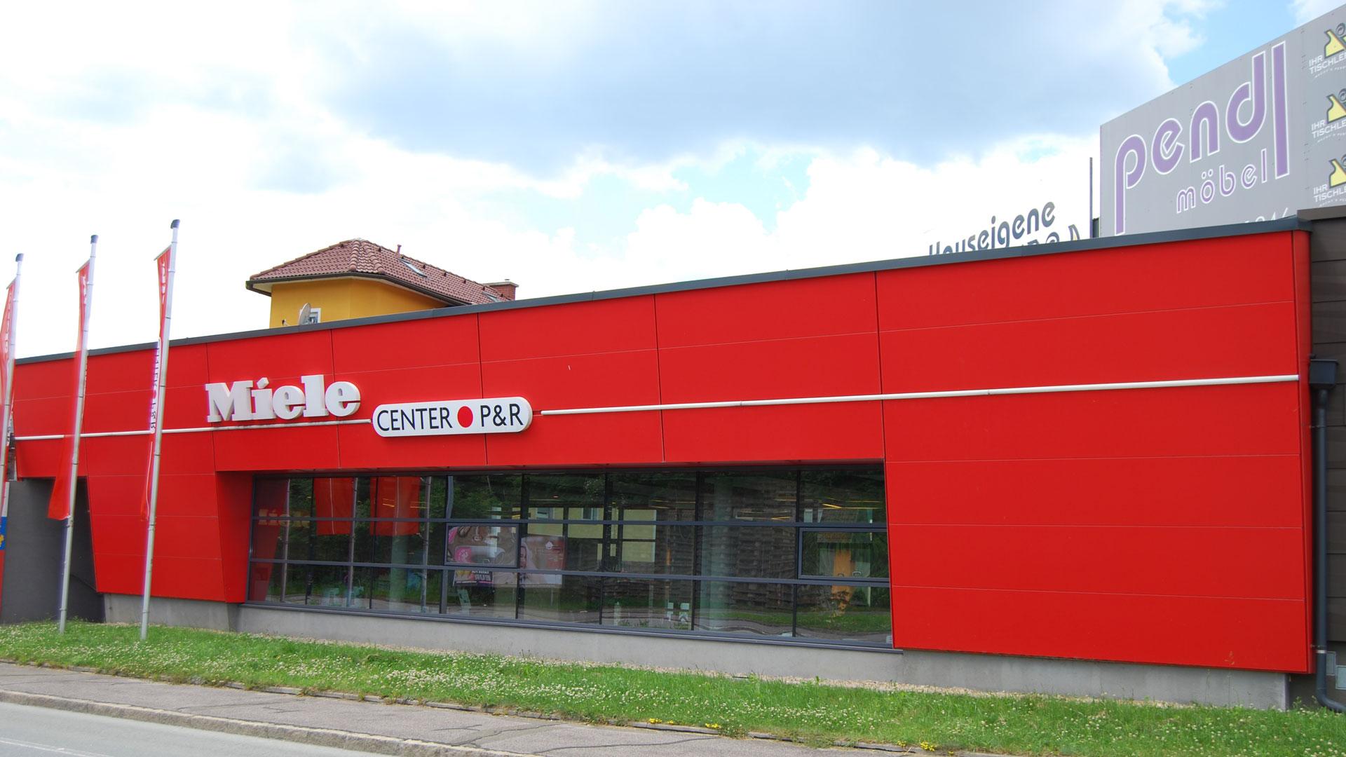 Miele Center P & R mit hauseigener Tischlerei und Küchenstudio in Leoben, Steiermark