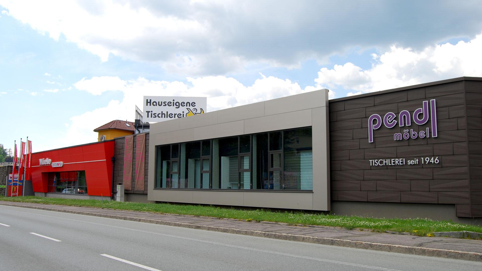 Pendl Möbel und Miele Center in Leoben