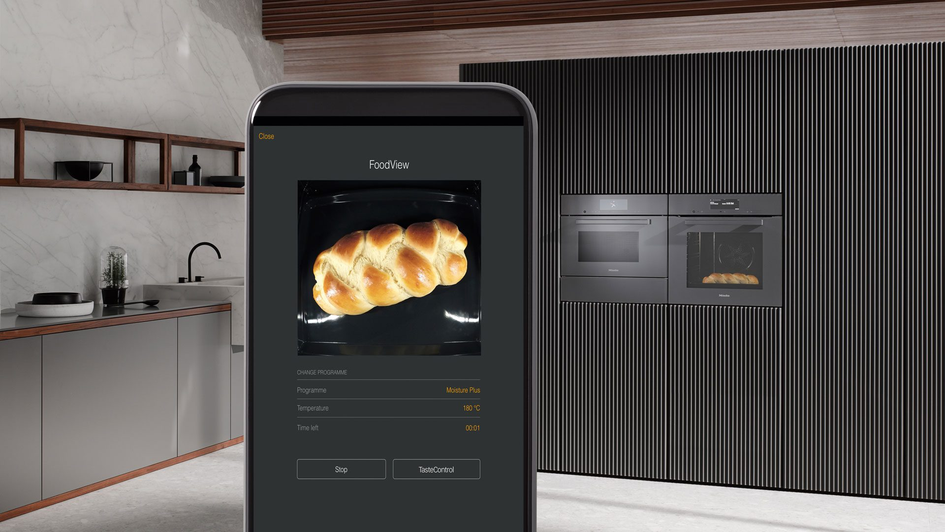 Miele Smart Home - Backofen mit dem Handy steuern bei Miele Center P&R in Leoben