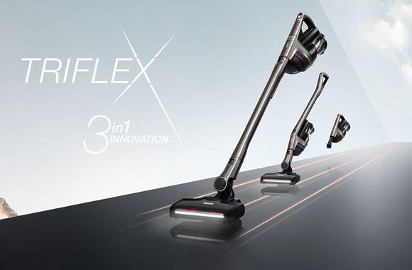 Der ersten kabellosen Handstaubsauger Triflex HX1