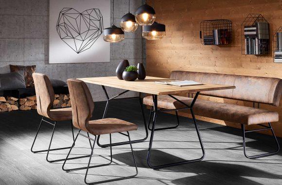 Asteiche-Esszimmer Möbel von Schösswender